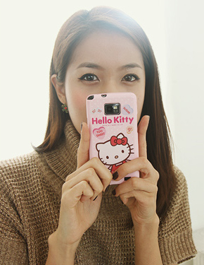 "<font color=""#ffffff"">手机外壳Hello</font> Kitty的情况下(PA017)[6Type]"